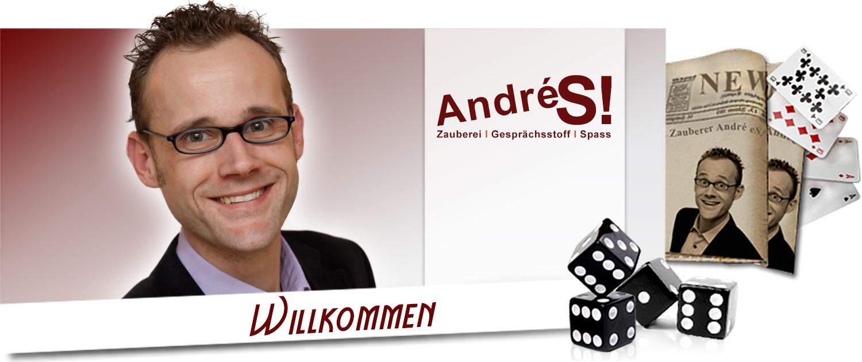 Herzlich Willkommen bei Zauberer André S! aus NRW
